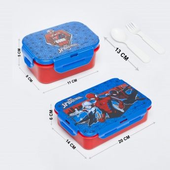 MARVEL SPIDERMAN Detachable Lunch Box with Dip Container