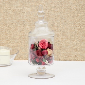 Contour-Beverly Glass Candy Jar - 14 x 36 Cms.