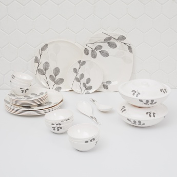Victor Printed Dinner Set - 31 Pcs