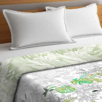 PORTICO Rain Forest Printed Cotton King Comforter