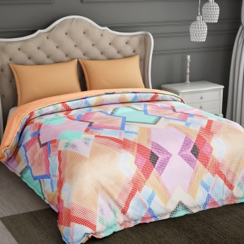 SPACES Essentials Printed Cotton Double Bed Comforter