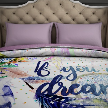 SPACES Printed Double Bed Comforter