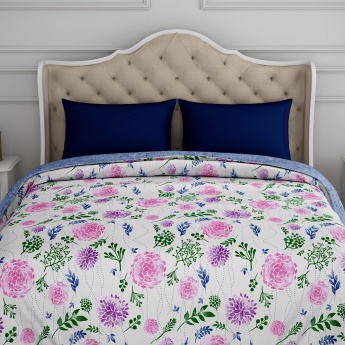 SPACES Essentials Printed Cotton Double Quilt