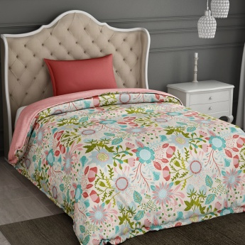 SPACES Essentials Printed Cotton Single Quilt