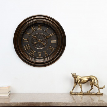 Casablanca Wooden Round Wall Clock