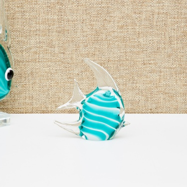Cosmos-Angel Abstract Fish Figurine - 13 x 4 x 12 Cms.