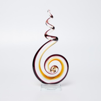 Splendid Abstract Swirl Figurine - 16 X 8 X 33 Cms.