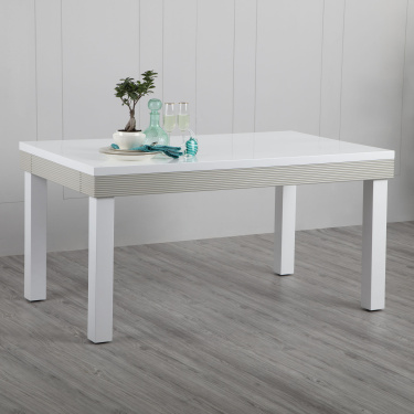 Alabaster 6 Seater Dining Table Without Chairs