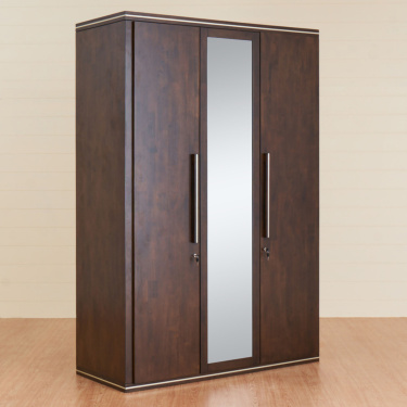 Valencia Two Door Hinged Wardrobe- 145X65 cms.