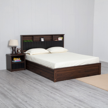 Lewis Queen Size Bed With Hydraulic Box Storage- 166X211 cms.