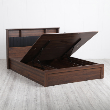 Lewis King Size Bed With Hydraulic Box Storage- 196X211 cms.