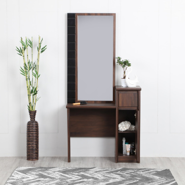 Lewis Soft-Close Dressing Table With Mirror