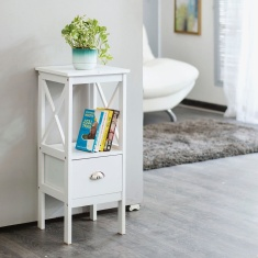 Frost Planter Side Table