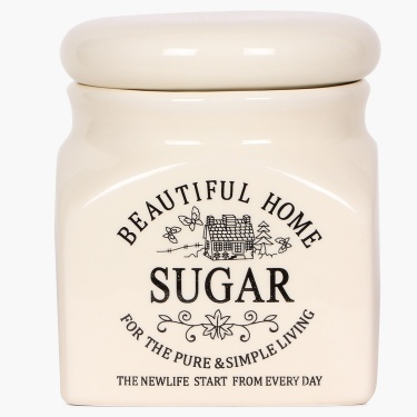 Beautiful Home Ceramic Sugar Jar