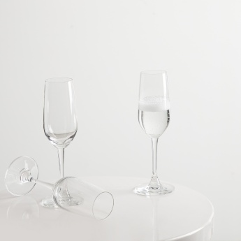 OCEAN Lexington Champagne Flute Set- 3 Pieces of 185 ml. each